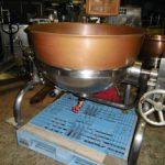カジワラ工業製 蒸気釜