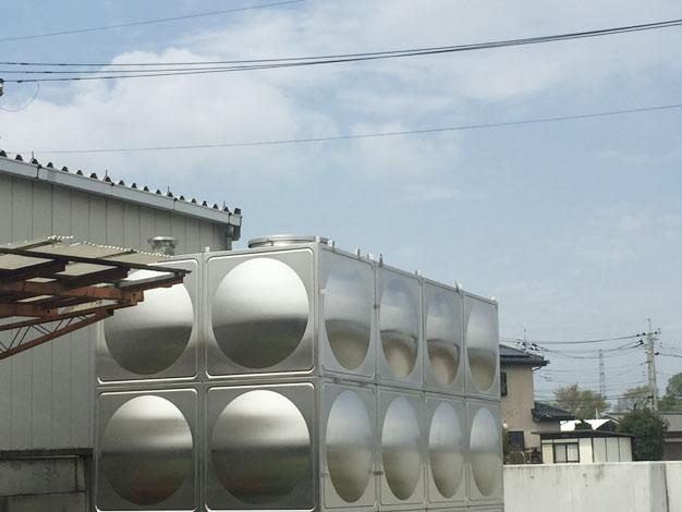 ステンレスパネルタンク1 新古品(未使用) 004-photo