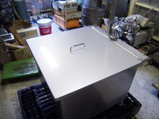 一斗缶湯煎槽4缶用(蒸気式) 001-photo