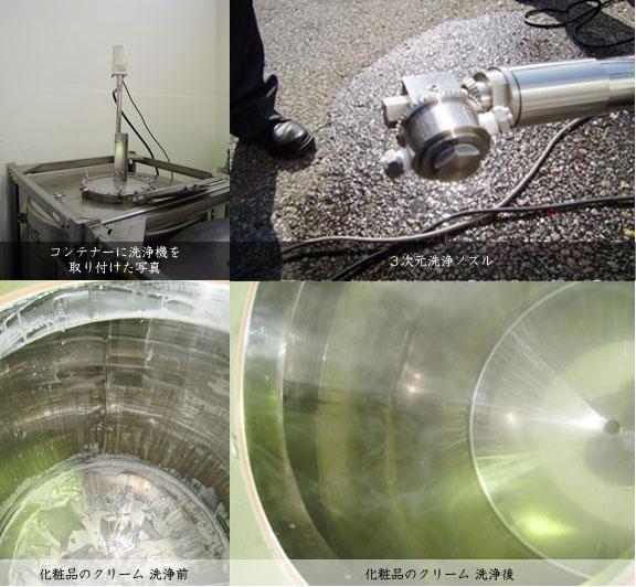 ドラム缶、コンテナー洗浄システム
