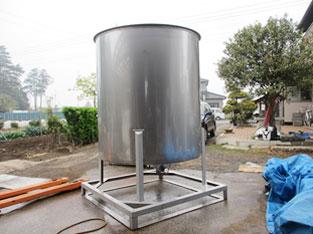 1200L攪拌タンク 新品 003-photo