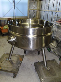 210Lオールステンレスジャケットタンク 001-photo
