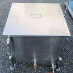 ステンレスタンク湯煎槽(蒸気式)