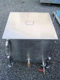 ステンレスタンク湯煎槽(蒸気式) 001-photo