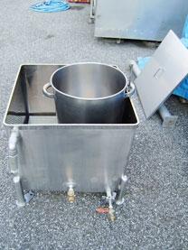 ステンレスタンク湯煎槽(蒸気式) 002-photo