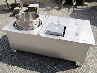 ステンレスタンク・1斗缶湯煎槽(蒸気式) 001-photo