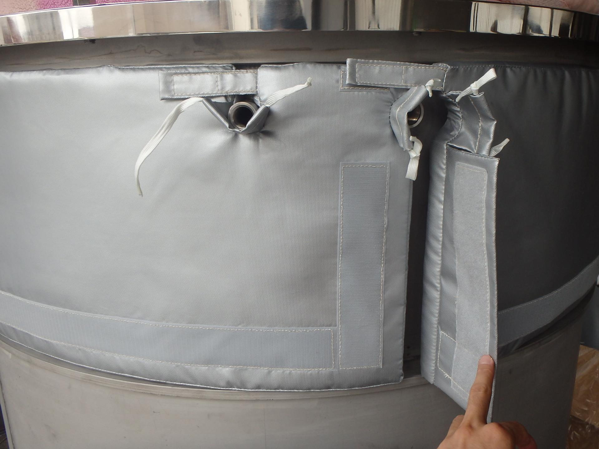 ジャケットタンク用保温材(断熱材) 003-photo