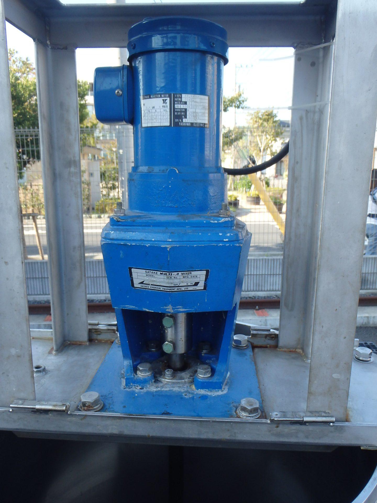 150Lステンレスジャケットタンク 004-photo