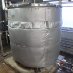 ジャケットタンク用保温材(断熱材)
