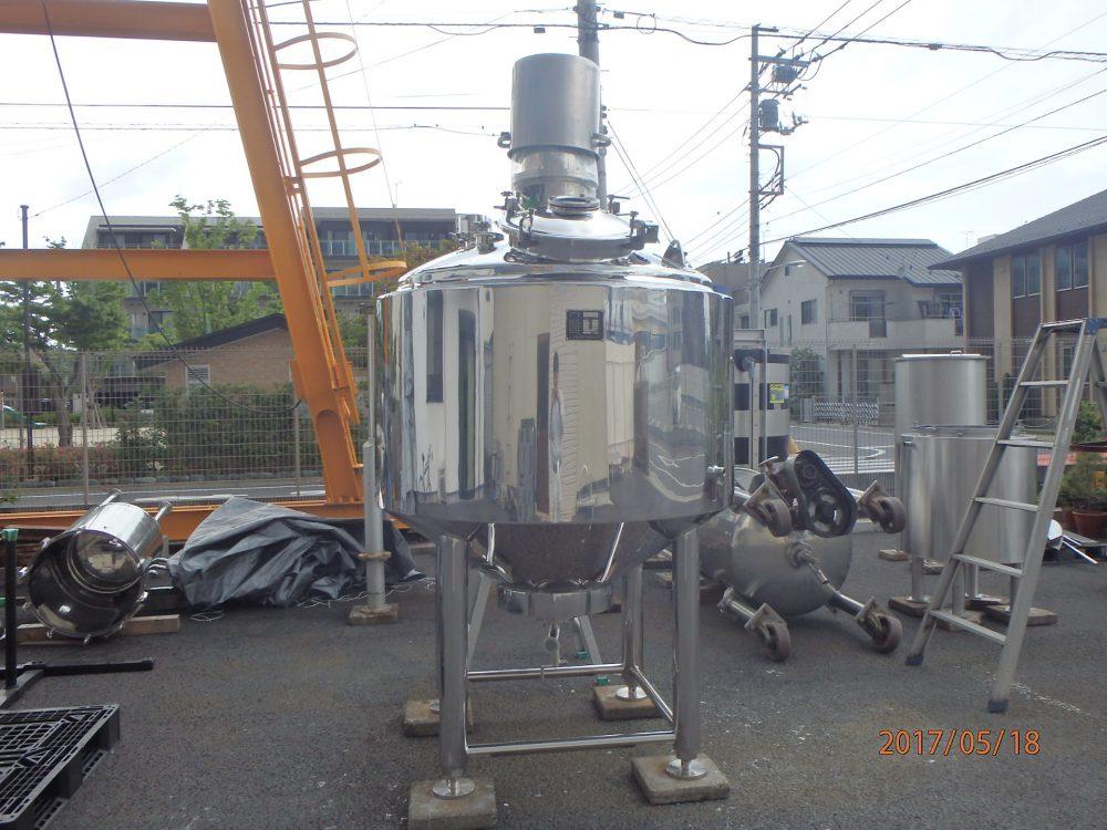 1000Lステンレス調合タンク 001-photo