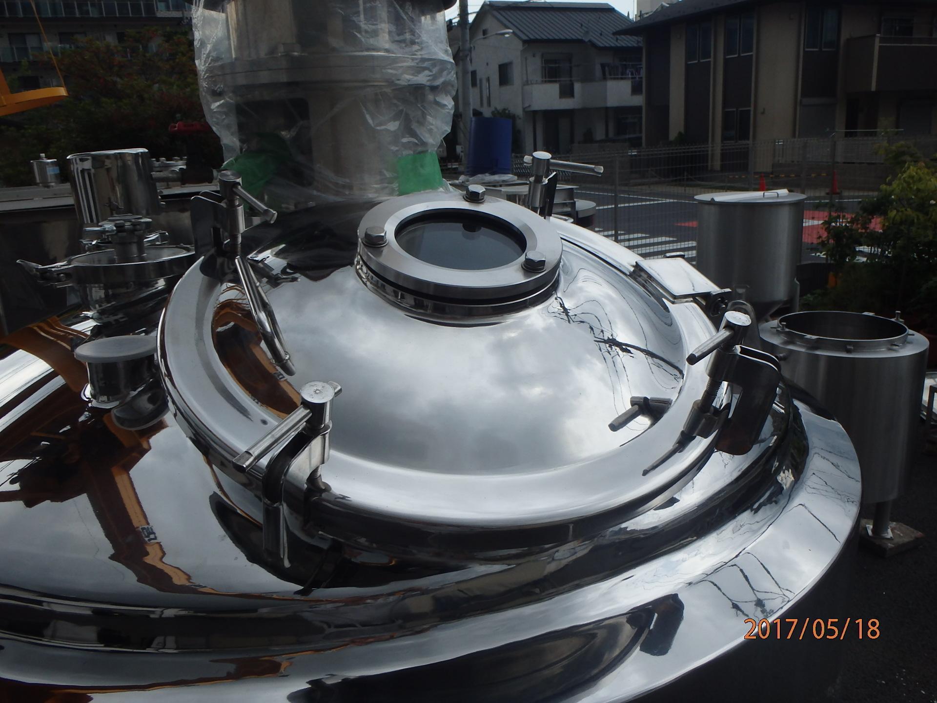 1000Lステンレス調合タンク 003-photo