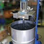 油圧昇降撹拌装置