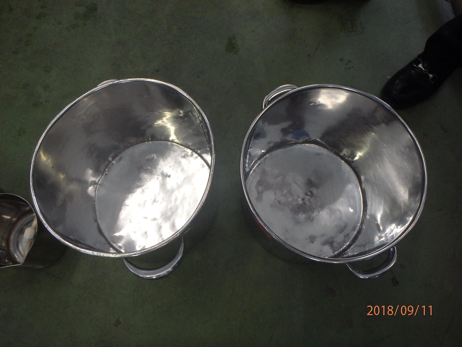 化粧品原料用容器 洗浄テスト実績 002-photo