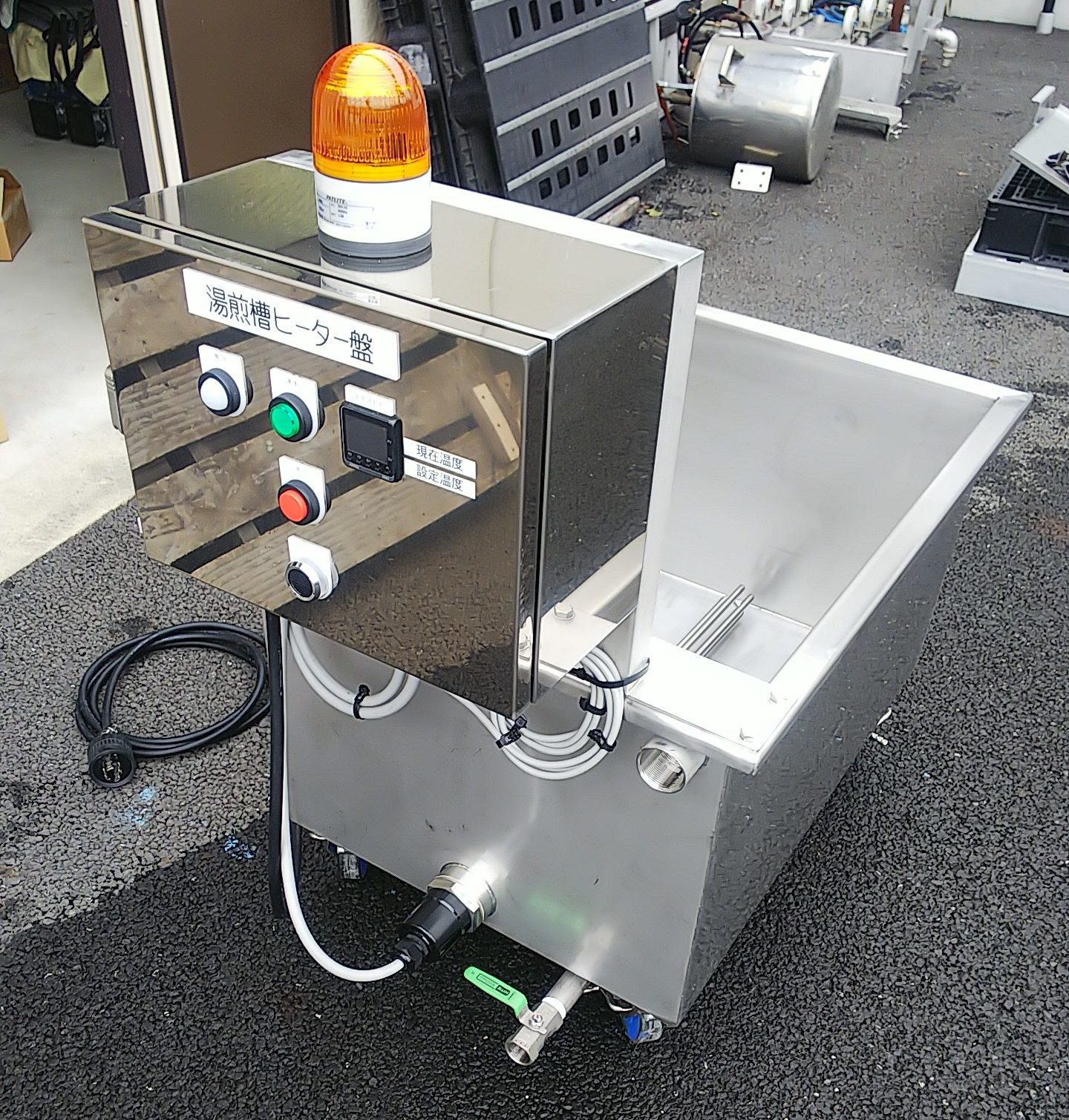 湯煎槽(ヒーター式)-実例[9] 001-photo