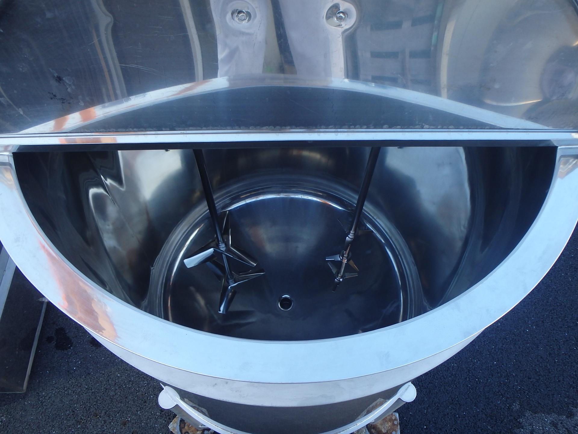 1200L冷却用ジャケット付き撹拌タンク 003-photo